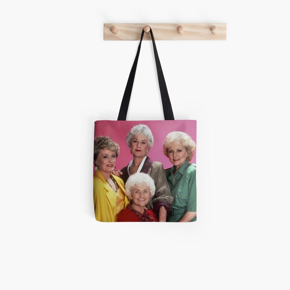 Golden Girls Girls Girls Tote Bag