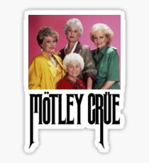 Golden Girls Girls Girls Sticker