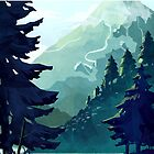 Canadian Mountain by MicaelaDawn