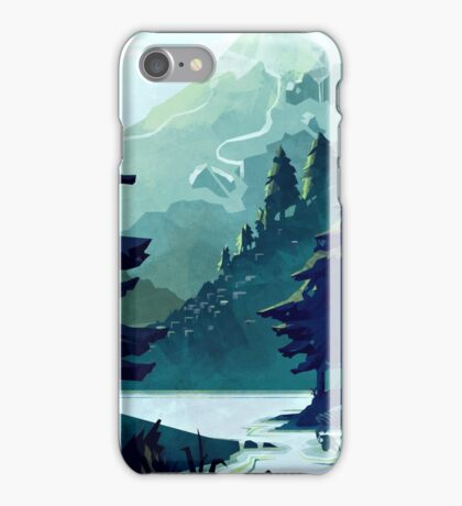 Canadian Mountain iPhone Case/Skin