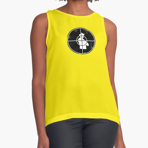Central Intelligence - Target (Faded as worn in the film) Bob Stone Sleeveless Top