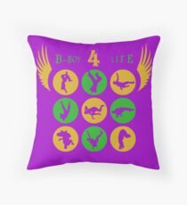 """Dance In Flight"" (B) Throw Pillow"