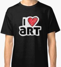 I HEART ART Classic T-Shirt