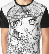 Colour Me fairy world  Graphic T-Shirt