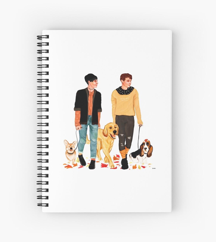Cuadernos de espiral «dan y phil consiguen un perro» de pinofs ...