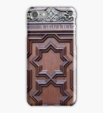 Spanish Church Door House of God Gateway to Heaven iPhone Case/Skin
