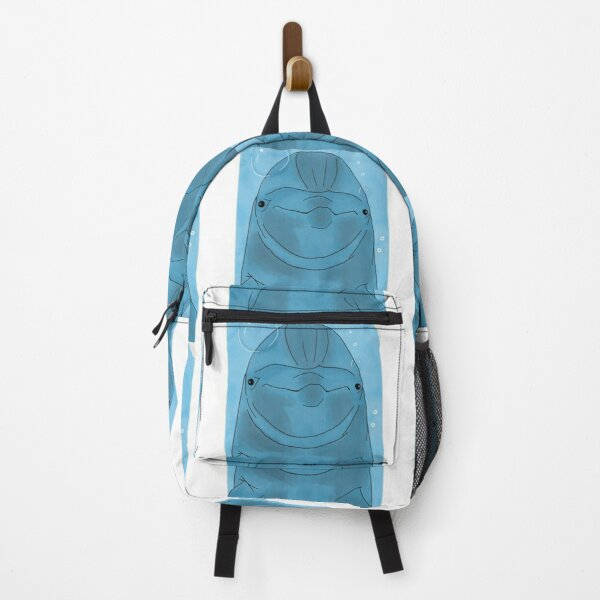 Stalker Dolphin Watching You Backpack