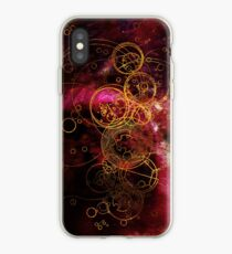 Time Lord Writing (red) iPhone Case