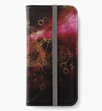 Time Lord Writing (red) iPhone Wallet/Case/Skin