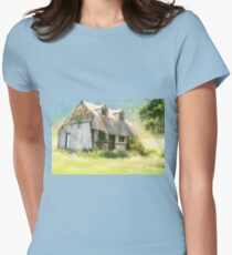 The Summer Cottage Women's Fitted T-Shirt