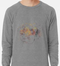 Time Lord Writing (schwarz) Leichter Pullover