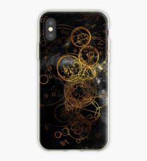 Time Lord Writing (black) iPhone Case