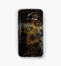 Time Lord Writing (black) Samsung Galaxy Case/Skin