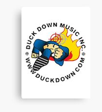 Duck Down Records Canvas Print