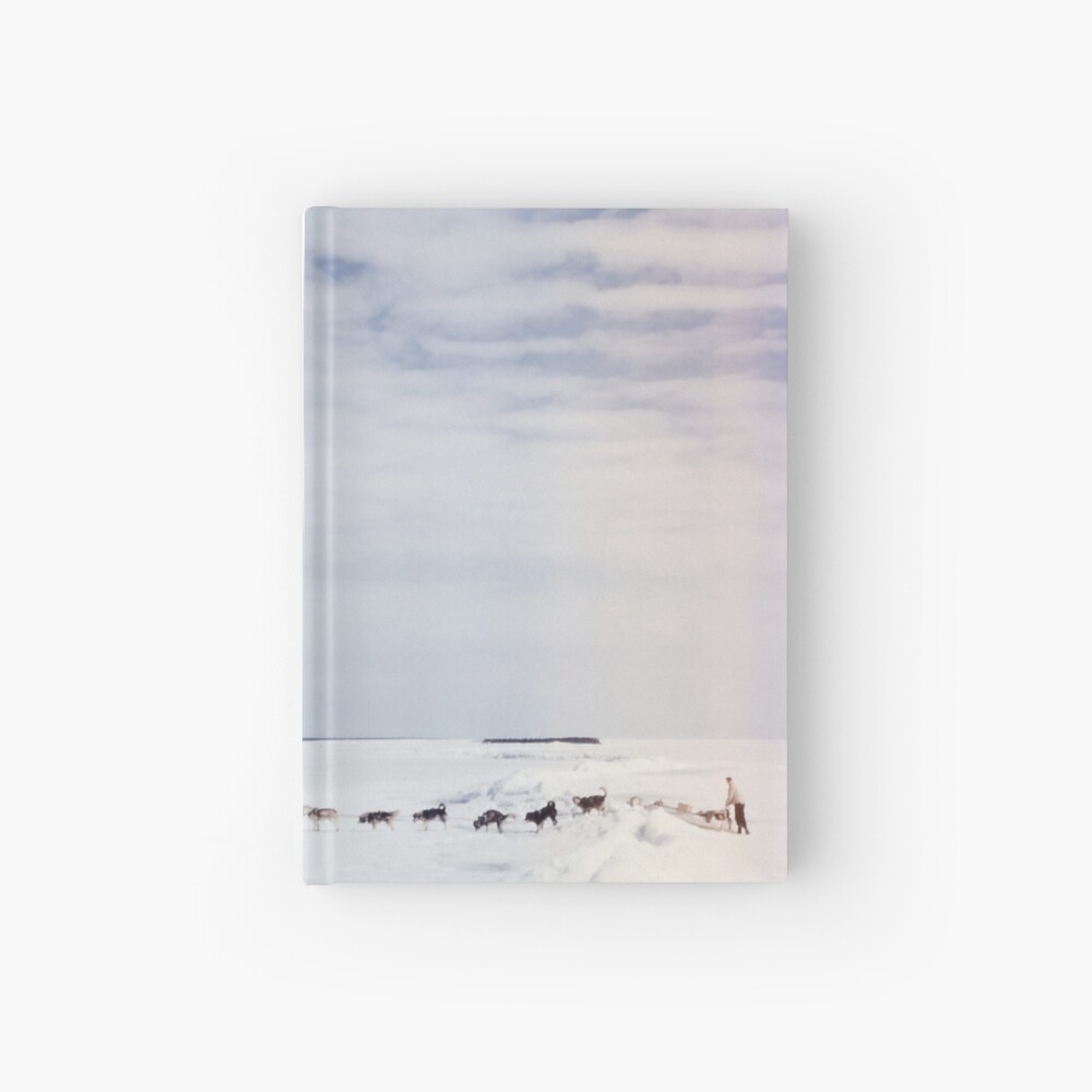 Across the Lake Hardcover Journal