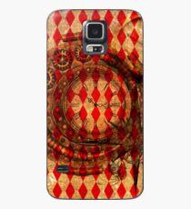 Steampunk Red Harlequin Case/Skin for Samsung Galaxy