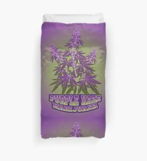 Purple Haze Medicinal Marijuana Cannabis Duvet Cover