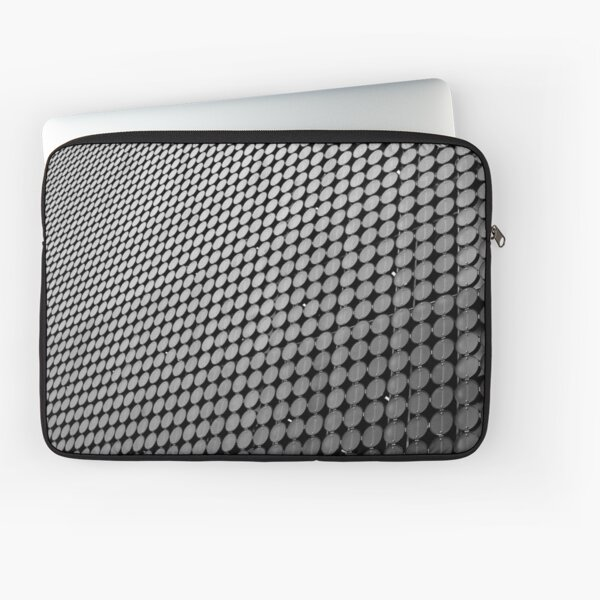 Wall of Circles Laptop Sleeve