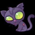 Zombie Kitty by fizzgig
