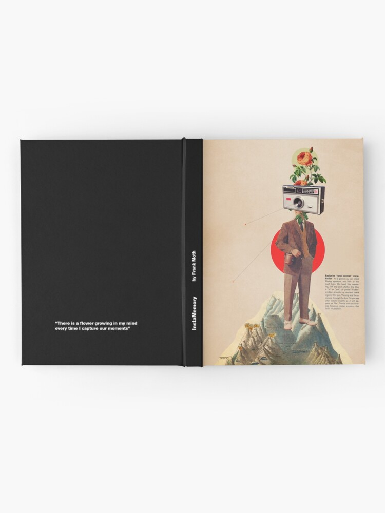 Alternate view of InstaMemory Hardcover Journal