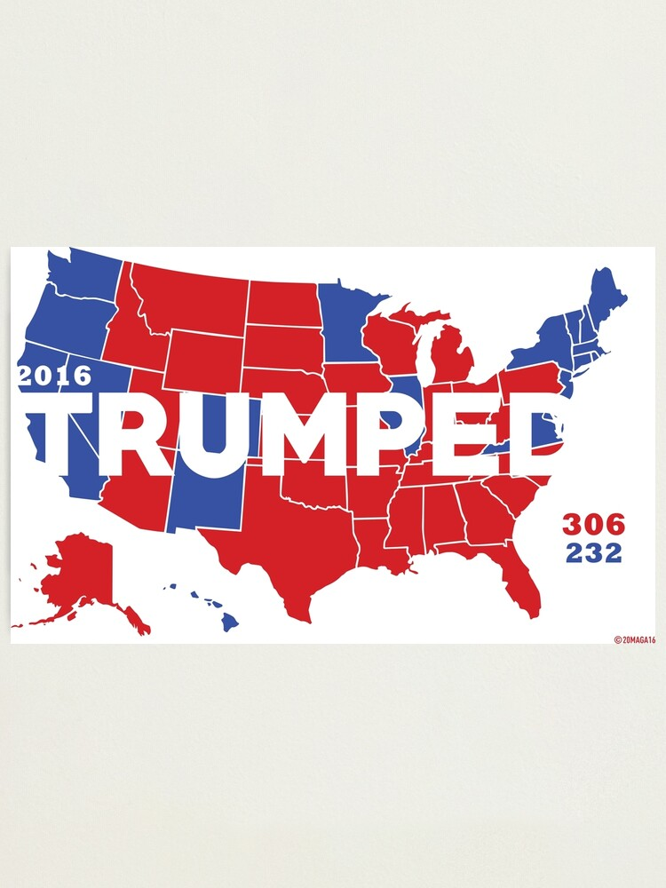 Alternate view of TRUMPED 2016 Photographic Print