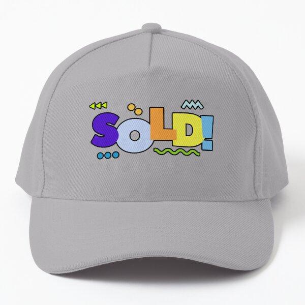 Sold Text Baseball Cap