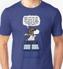 Snoopy and Dr Who T-Shirt