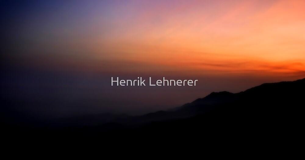 Sunset by Henrik Lehnerer