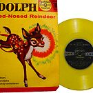 Rudolph the Red Nosed Raindeer Christmas Record by hilda74