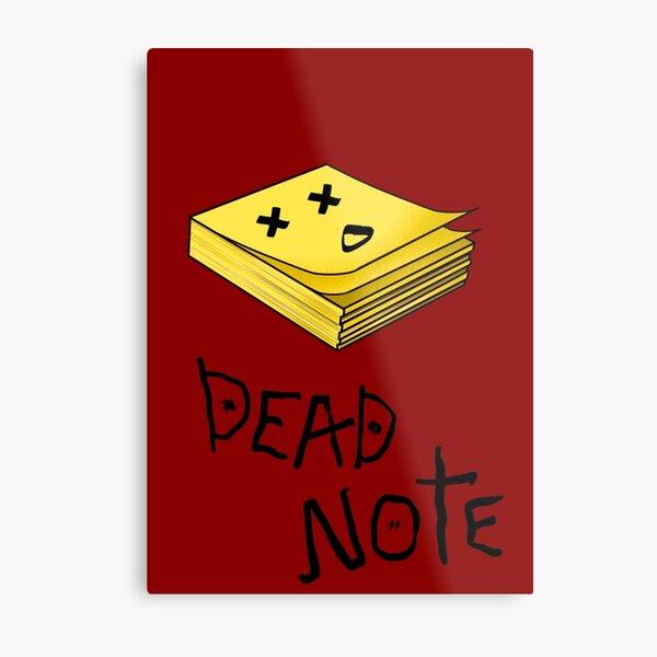 Dead note II Metal Print