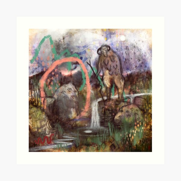 Eþelweard - Guardian of the Land Art Print