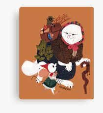 The Witch's Apprentice Canvas Print