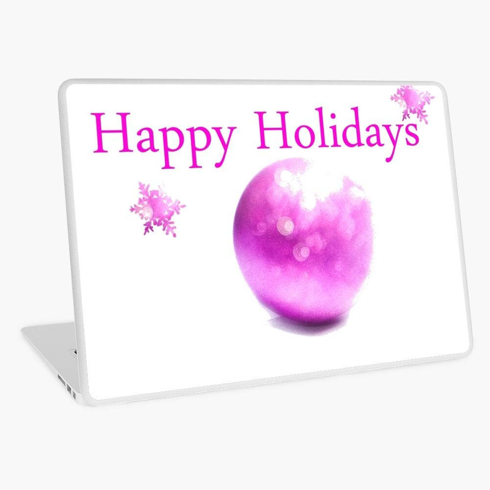 Happy Holidays (Glam Version) Laptop Folie