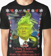 Donald Grinch Trump Graphic T-Shirt