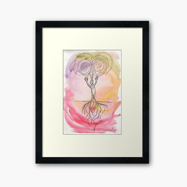 Connection (Spirit and Earth) Framed Art Print