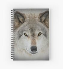 Wolf Portrait Spiral Notebook
