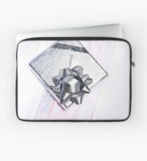 Silver Gift Laptop Sleeve