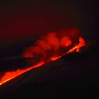 Lava Flow Mount Etna by Francis Drake