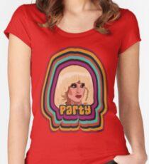 Camiseta entallada de cuello redondo Katya Zamolodchikova - Fiesta