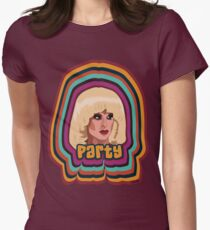 4edbab92b68c76 Katya Zamolodchikova - Party Women s Fitted T-Shirt
