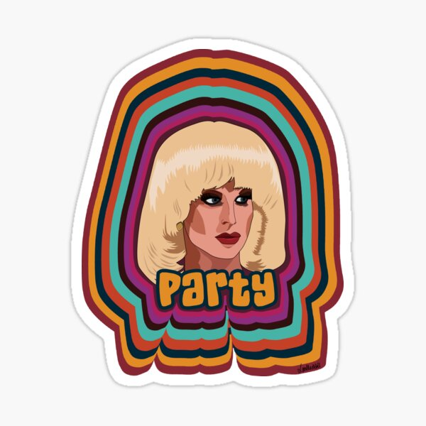 Katya Zamolodchikova - Party Sticker