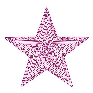 Pink Star by dohcom
