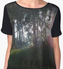 Enchanted Forest Women's Chiffon Top