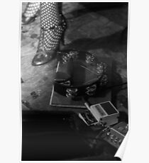 Cabaret Performance Stage Floor Poster
