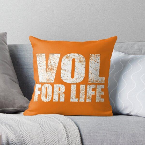 Vol for Life Throw Pillow