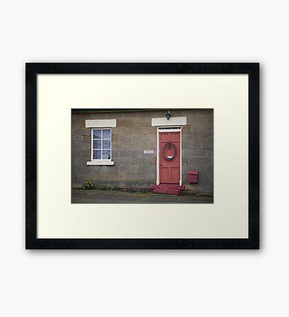 128 high street Framed Print