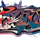 Japanese KANJI Graffiti KACHOUHUUGETSU by TurkeysDesign