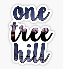 One Tree Hill Title Scene Sticker