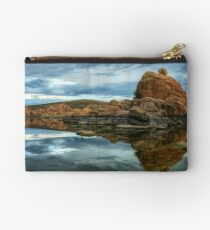 Storm Clouds Over Watson Lake Studio Pouch
