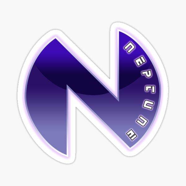 Neptune Logo Sticker
